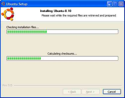 Instalasi ubuntu pada windows